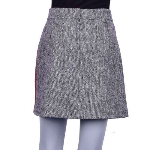Wolle Samt Mit Gabbana Rock Mini Grau Rosa Dolceamp; 07073 Kristallen 40 S T3KF1Julc