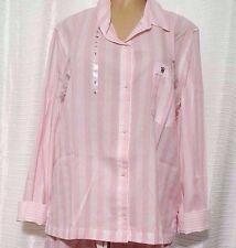 LARGE  Victorias Secret Striped DREAMER  Sleep Shirt NWT