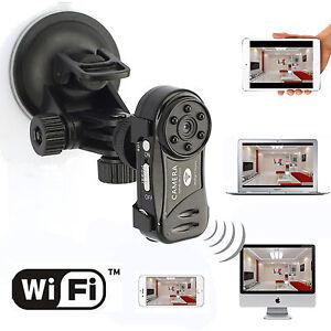 Mini Wifi IP P2P Wireless Security Spy Hidden Camera Video Recorder DVR 6LED Cam
