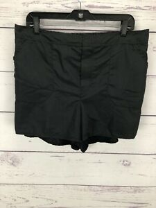 Swimsuits-For-All-Women-s-Shorts-Swimwear-Black-Size-16-NEW
