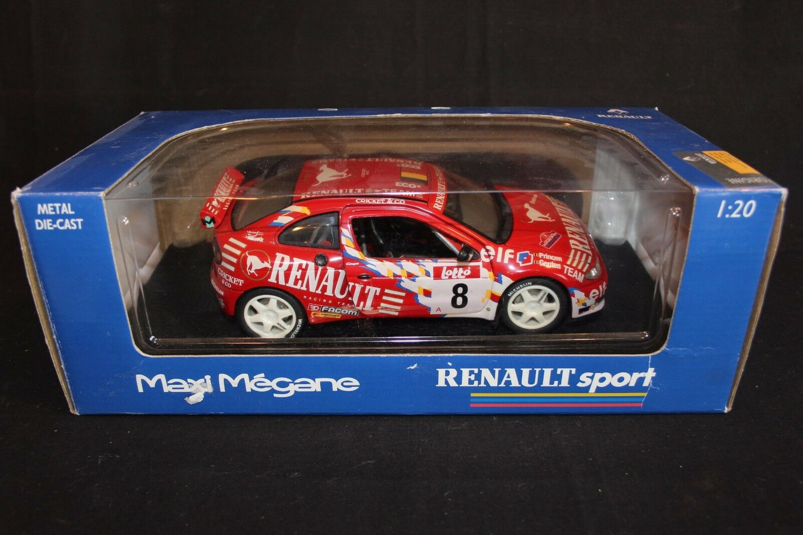 Anson DV Renault Maxi Maxi Maxi Megane 1999 1 18 Princen   Genten Boucles de Spa (AK) f75da5