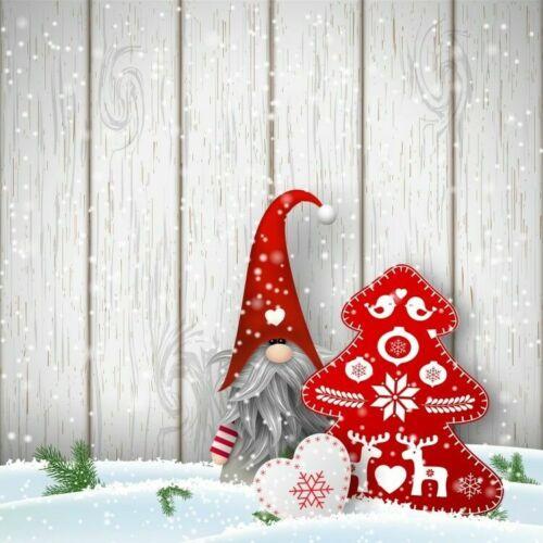 Christmas Photography Backdrop Background Photo Xmas Snow Vintage Plank Wall