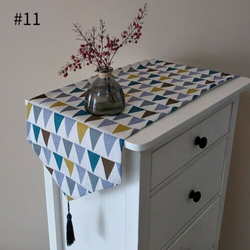New Table Runner Printed Tablecover Rectangle Tablecloth Home Desktop Decoration