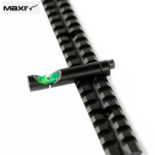 Alloy Rifle//Airgun Scope Alloy Spirit Level Bubble for 20mm Rail Weave//Picatinny