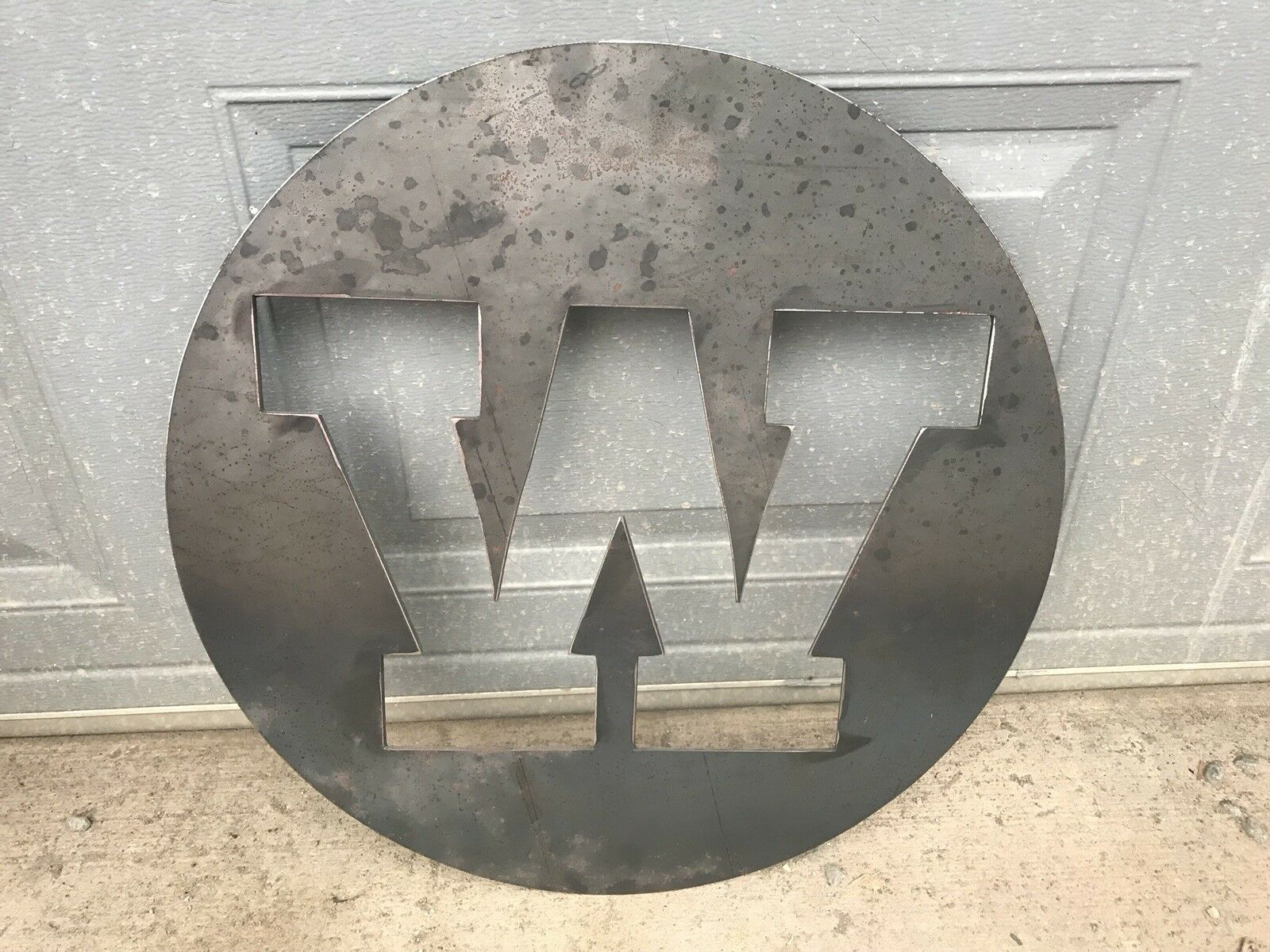 Cnc Wall Art Badge Letter M Or W