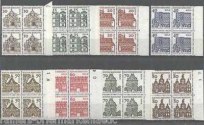 Berlin 242 - 249 Postfrisch Viererblock 242 Mit Dz Vb Alle Mit Bogenrand Rechts Komplette Artikelauswahl