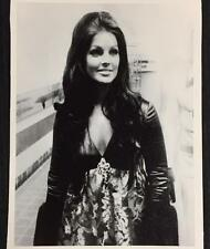 PRISCILLA PRESLEY Black & White 11x14 Canvas Classic Vintage Photo