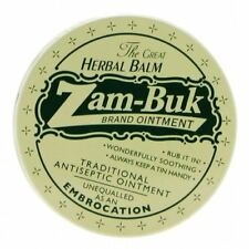 Zam Buk Brand Ointment Herbal Made in UKTraditional Antiseptic 20g Sealed