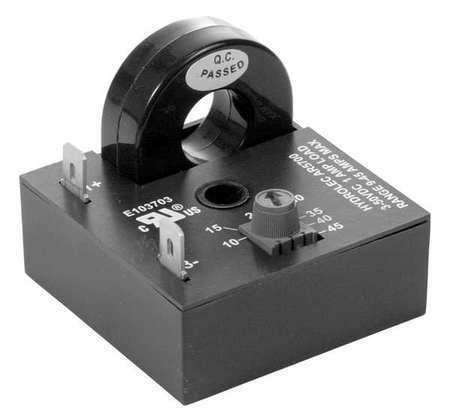 AIROTRONICS HCSDC030A Current Sens Relay,6 to 30A,Self Powered