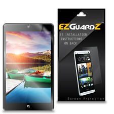 2X EZguardz Clear Screen Protector For Nuvision 8 Windows PC Tablet TM800W610L