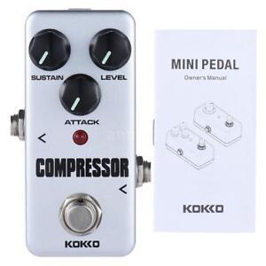 Profesional-KOKKO-FCP2-mini-compresor-pedal-portatil-efecto-guitarra-D7M2