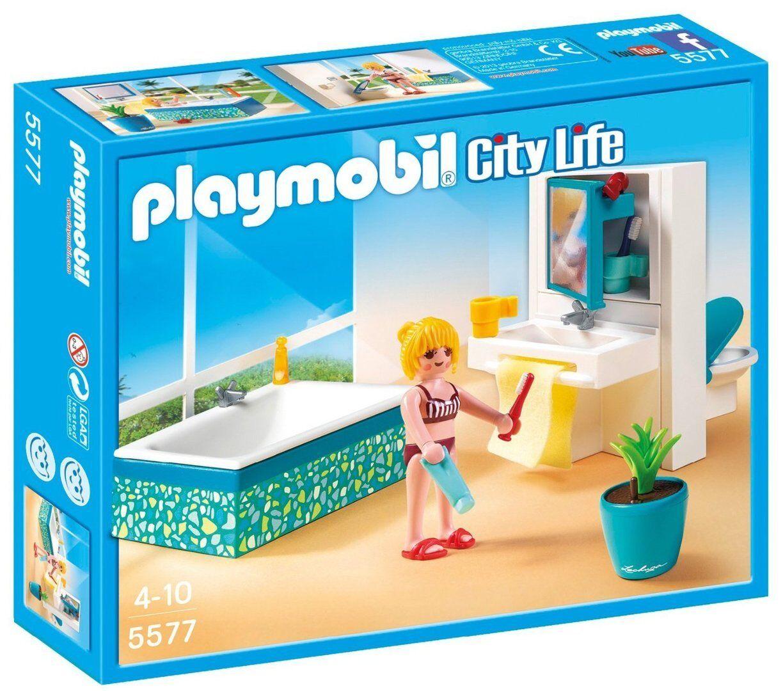 Playmobil 5577 - Baño Baño Baño Moderno - NUEVO d4ecd3