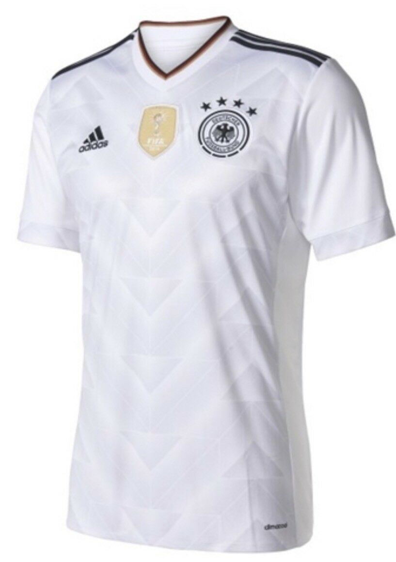 18b4aba24 Adidas Germany Home Youth Big Kids Soccer Jersey B47863 S M XL NWT gold  White npvzpj6266-Youth
