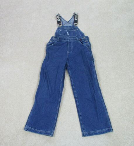 VINTAGE FUBU Overalls Adult Medium Blue Denim Pant