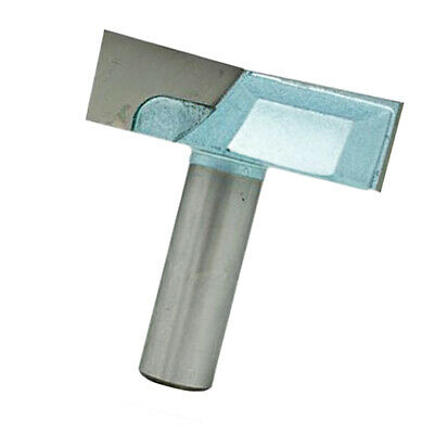 Bottom Cleaning Router Bit 1-1//2/'/' Cutting Dia 1//4/'/' Shank Surface Planing