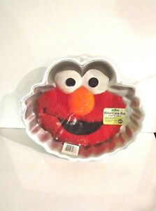 Details About Vintage Elmo Cake Pan By Wilton With Instructions Model 2015 3461