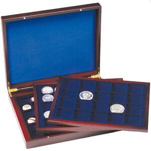 308045-Leuchtturm-Muenzkassette-VOLTERRA-de-Luxe-mit-3-verschiedenen-Tableaus
