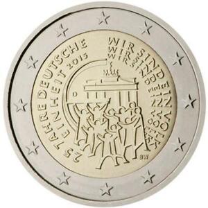 Germania 2015 Réunification Allemande Monnaie: D