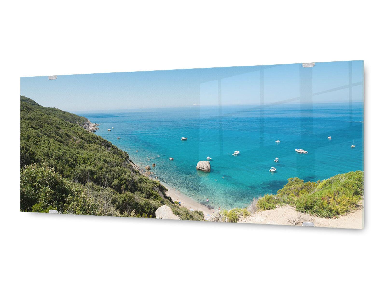 Image la fresque glx12569451343 Ibiza Plage 125 x 50 cm