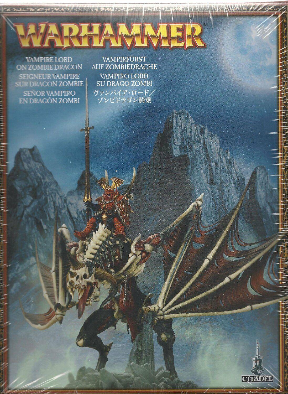 Juegos taller Warhammer Señor Vampiro En Dragón zombie