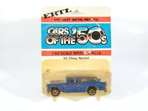 Vintage-Ertl-Cars-of-the-50s-1955-Chevy-Nomad-Station-Wagon-1-64-Diecast-NOC