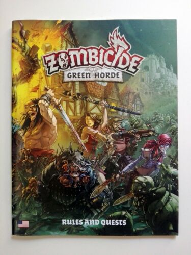 english Zombicide Black Plague Rulebook ZOMBICIDE GREEN HORDE