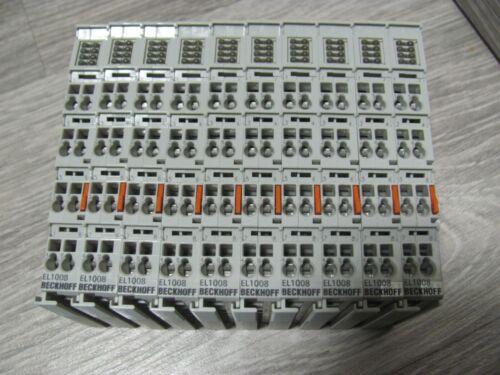3 ms 1 PC BECKHOFF EL1008 8-channel digital input terminal 24 V DC