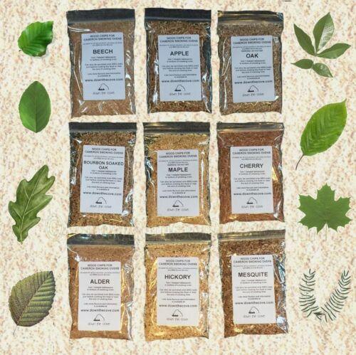 9 saveurs-poussières de bois Copeaux de bois pour fumer Sampler-variété des échantillons de bois