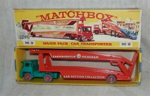 Matchbox Lesney Major M8 Guy Warrior Transporter.mint Dans Box.all Original