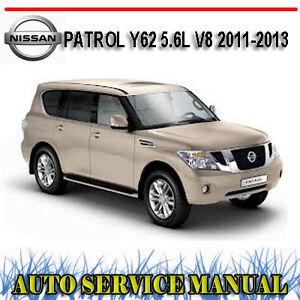 NISSAN-PATROL-Y62-5-6L-V8-2011-2013-WORKSHOP-SERVICE-REPAIR-MANUAL-DVD