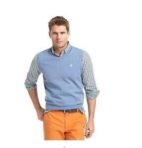 NEW IZOD Men's Light Blue/ 2XL/ V-Neck/ Sweater Vest -Quality | eBay