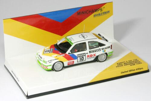 DTM 1989 Opel Kadett E GSI 16V Minichamps 437894110-1:43 Oberndorfer
