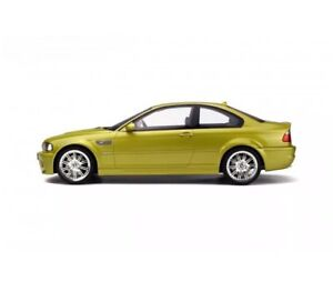 New 1 12 Otto Bmw E46 M3 Phoenix Yellow 999pcs Ebay