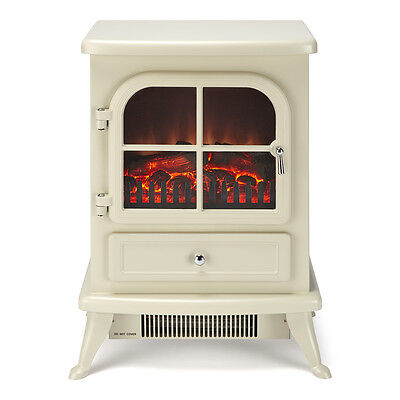 Electric Stove Fire Log Flame Effect