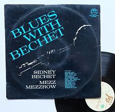 "Vinyle 33T Sidney Bechet / Mezz Mezzrow  ""Blues with Bechet"""