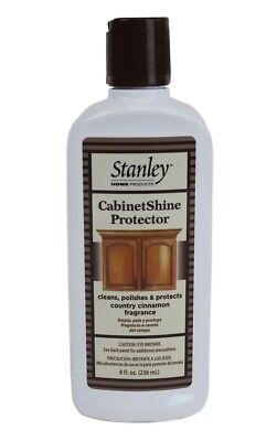 Stanley Home Products Cabinet Shine Protector Cleans