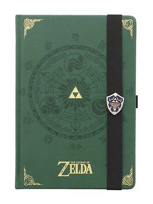 The Legend of Zelda A5 Green Notebook 15x21cm