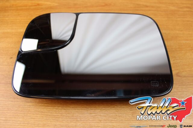 2005-2009 Dodge Ram Driver Side 1500 2500 3500 Heated Power Tow Mirror Glass OEM
