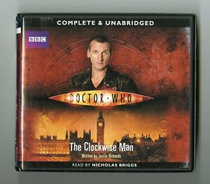 Doctor-Who-The-Clockwise-Man-by-Justin-Richards-Audiobook-6CDs