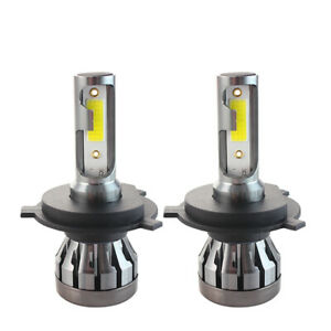 Pair-H4-200W-Car-CREE-CSP-LED-Headlight-Kit-Canbus-Lamp-50000LM-6000K-Bulbs