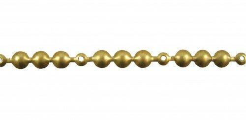 10 Meter Ziernagelstangen gold 11 mm 130 1//3