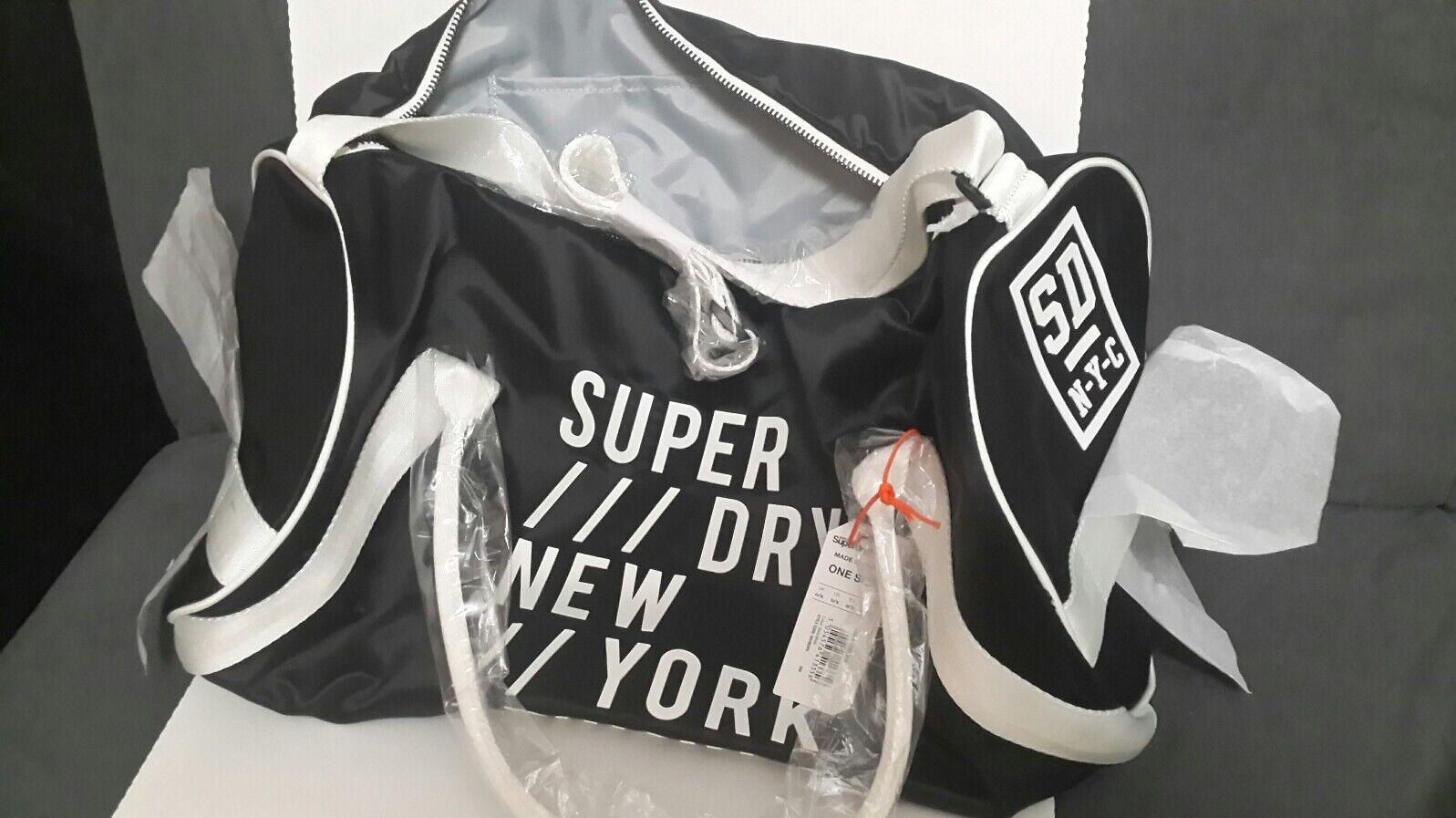 Superdry Super Sport Barrel Bag One  Neu Neu Neu e2611d