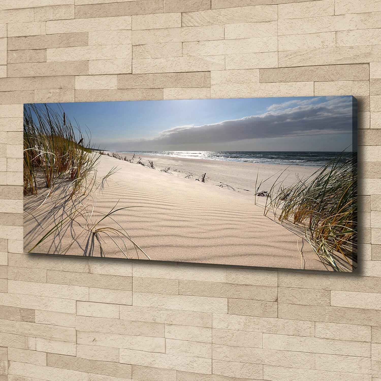 Tela Arte-stampa 125x50 immagini paesaggi spiaggia del mar Baltico