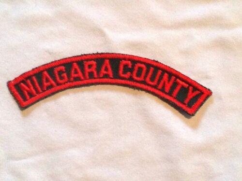 NIAGARA COUNTY ID Shoulder Strip 1960-80 Girl Scout Insignia Multi=1 Ship Chrg