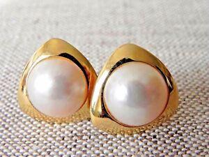 12-50-mm-Mabe-Pearl-14k-Yellow-Gold-Pierced-Earrings