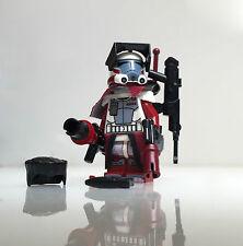 "Lego Star Wars - Custom - ARC Clone Trooper ""Hammer"" + Custom Guns, Helmet etc"