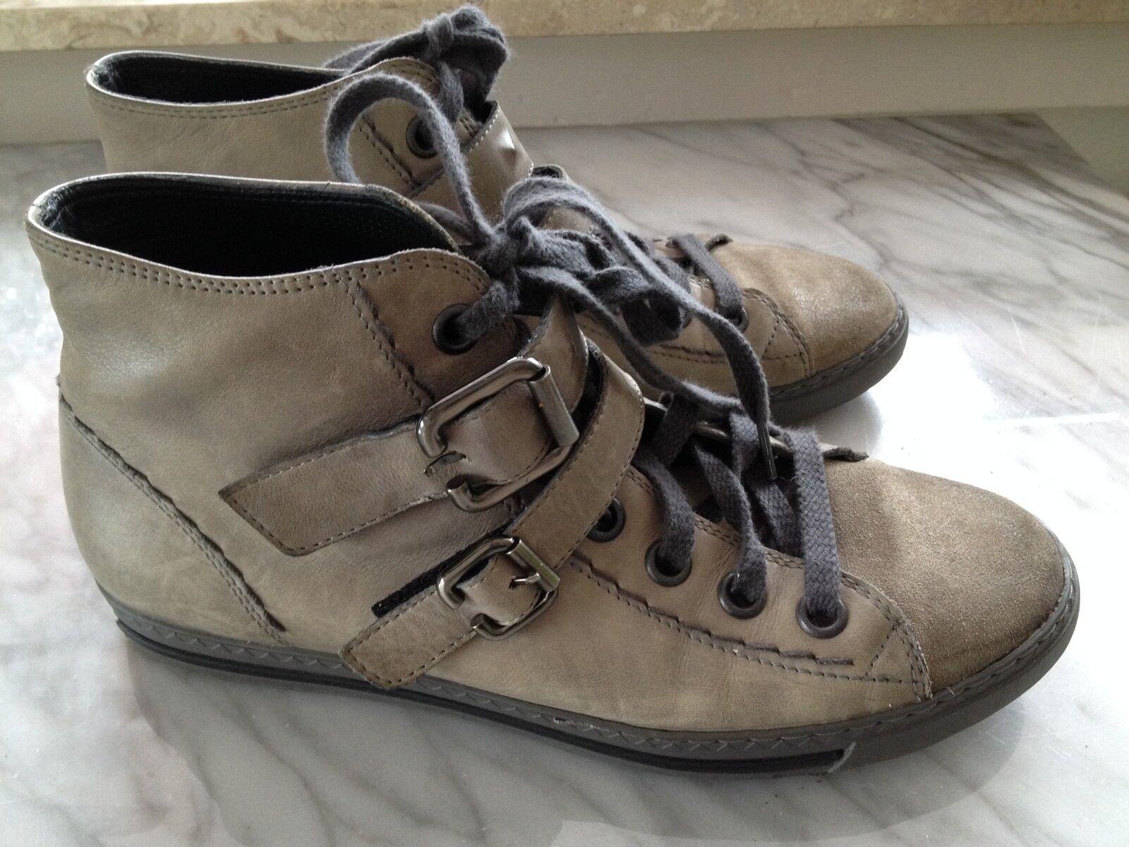 Paul Grün grau Sneaker grau Grün Gr. 38,5 (5,5) 86a398