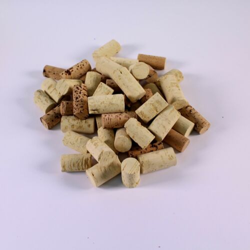 Craft Cork Pieces for Kids 3D Art Modelling Pack of 100g Shapes in Various Sizes