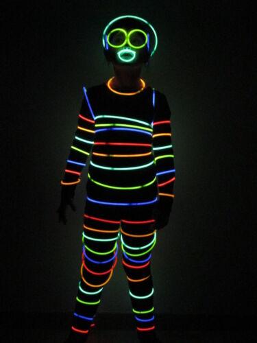 100x Knicklichter Leuchtstäbe Disco Party Karneval Mitgebsel Festival Event NEU