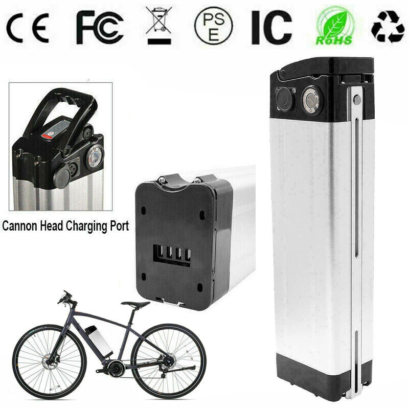 24V 10AH Li-ion Lithium E-Bike Battery for 250W Motor Electric Bicycles Scooter
